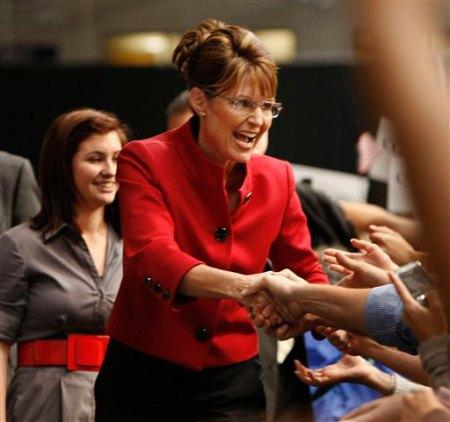 Palin hands