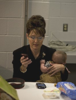 Palin blackberry